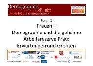 Demographie Frauen – Demographie und die geheime Arbeitsreserve ...