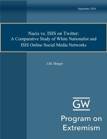 Nazis vs ISIS on Twitter