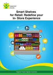 Smart Shelves for Retail Redefine your In- Store Experience