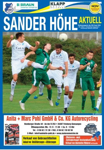 SanderHöhe Aktuel Nr.2 2016/17