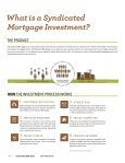 SYNDICATED MORTGAGE - Page 4