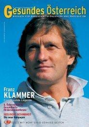 KLAMMER KLAMMER - Fonds Gesundes Österreich
