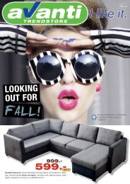 Avanti Trendstore Looking out for Fall ePaper