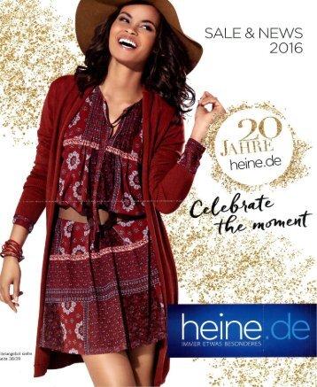 Каталог Heine Sale&News осень 2016. Заказ одежды на www.catalogi.ru или по тел. +74955404949