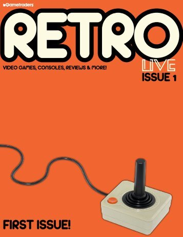 Retro Live Magazine - Issue 1