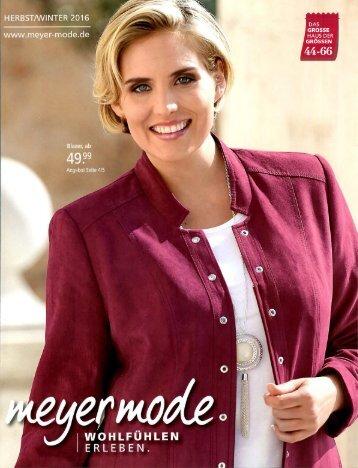Каталог Meyer Mode осень-зима 2016. Заказ одежды на www.catalogi.ru или по тел. +74955404949