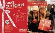Stadtleben Magazin: 2. Ausgabe 2012 - Graz Tourismus