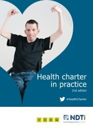 Health charter in practice