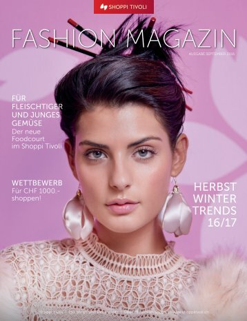 FASHION MAGAZIN Herbst 2016