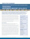 TANZANIA TAARIFA YA UTEKELEZAJI 2014–2015 - Page 5