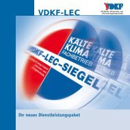 VDKF-LEC – bindet Ihre Kunden an Sie - Debusmann GmbH