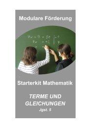 terme und gleichungen - Bayerische Mittelschule