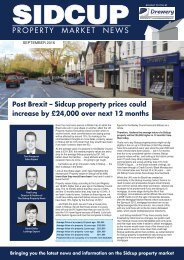 SIDCUP PROPERTY NEWS - SEPTEMBER 2016