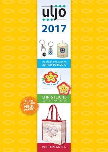 Uljö Katalog 2017