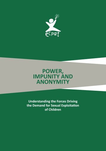 POWER IMPUNITY AND ANONYMITY