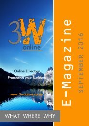 3W Online Magazine - September 2016