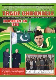 Trade Chronicle July & August 2016