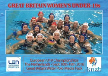 GREAT BRITAIN WOMEN'S UNDER-19s