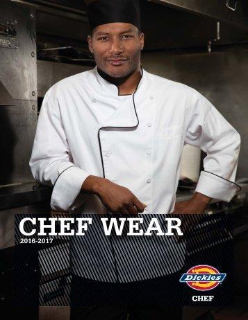 Dickies Chef Catalog_Fall 2016