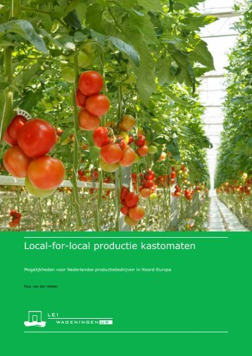 Local-for-local productie kastomaten
