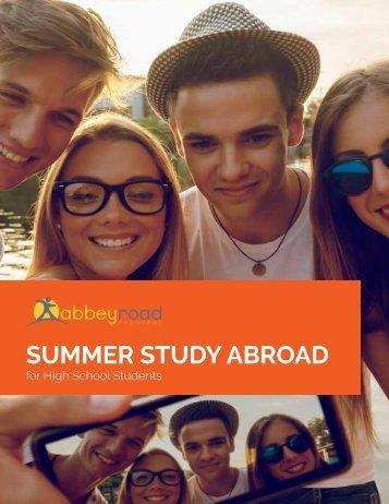 Summer Study Abroad