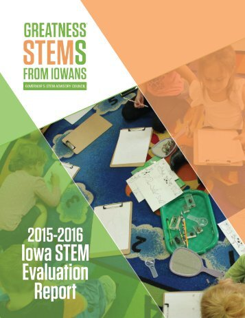 Iowa STEM Evaluation Report