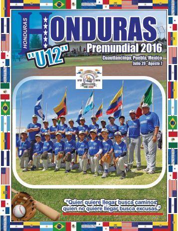 Seleccion U12 Honduras 2016