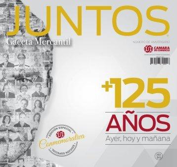 Juntos Gaceta Mercantil - AGOSTO 2016