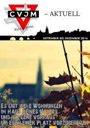 CVJM Regensburg - aktuell (03/2016)
