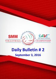 Daily Bulletin # 2