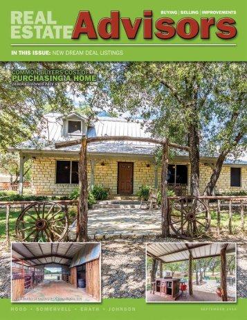 The Real Estate Advisors Magazine - September 2016