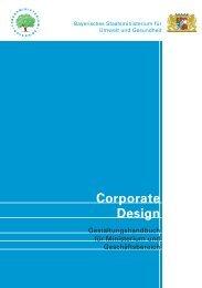 Corporate Design - Bayerisches Staatsministerium für Umwelt und ...