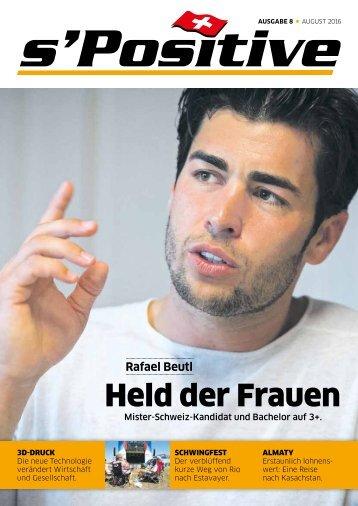 s'Positive Magazin 08.2016