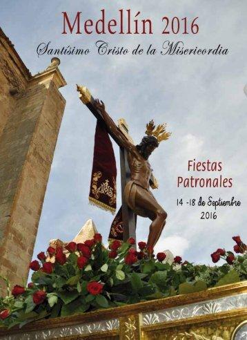 Programación de las Fiestas Patronales del Santísimo Cristo de la Misericordia de Medellín (2016)