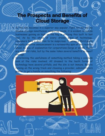 The Prospects and Benefits of Cloud Storage