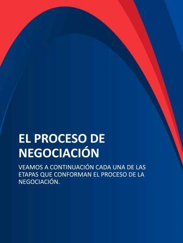 El proceso de negociacion
