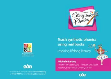 Teach Synthetic Phonics Using Real Books Liverpool Hope University