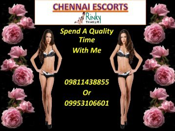 Chennai Escorts Services for Night Enjoyments