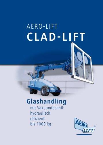 AERO-LIFT CLAD-LIFT zum Glashandling