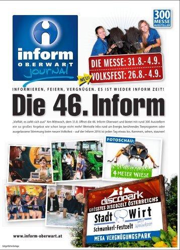 Inform Oberwart 2016-08-26