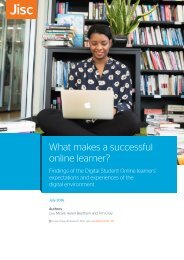 What makes a successful online learner?