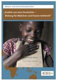Bildung für Mädchen und Frauen weltweit