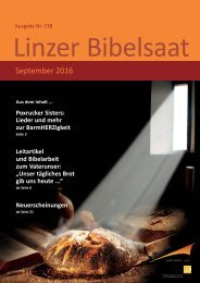 Linzer Bibelsaat: Saat 138