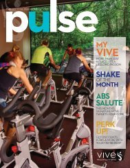 Vive Health & Fitness | September Issue 2016