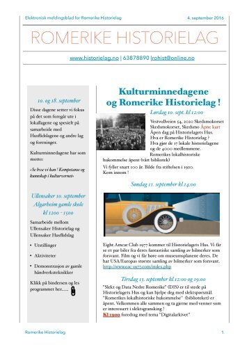 e-meldingsblad september 2016