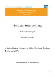 Ausarbeitung - Software and Systems Engineering