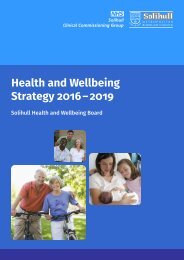 Health and Wellbeing Strategy 2016 – 2019
