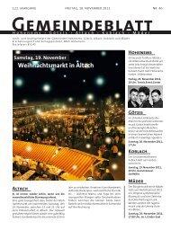 GBA2011 Woche 46 - Altach