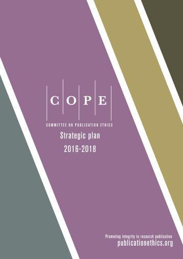 Strategic plan 2016-2018