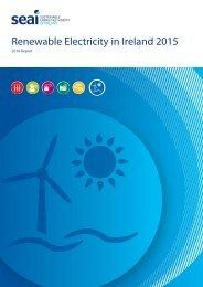 Renewable Electricity in Ireland 2015